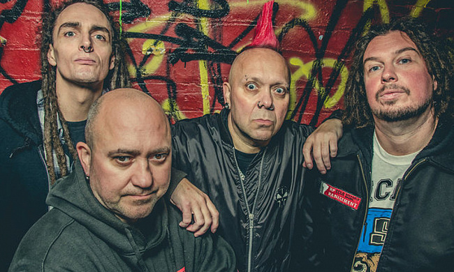 Концерт группы The Exploited в Петербурге