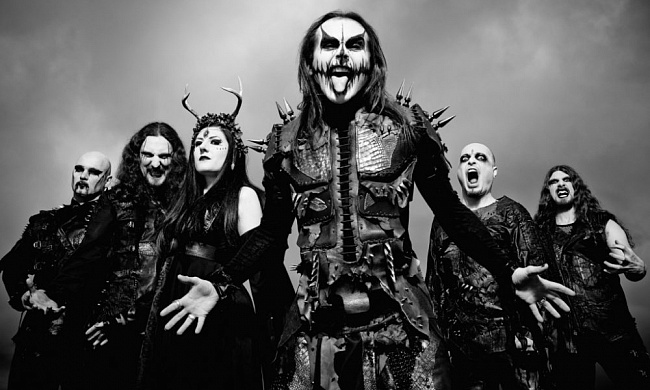 Концерт Cradle Of Filth в Москве
