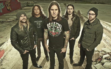 Концерт группы As I Lay Dying в Петербурге
