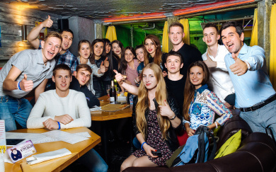 Вечеринка Moscow B-Day party