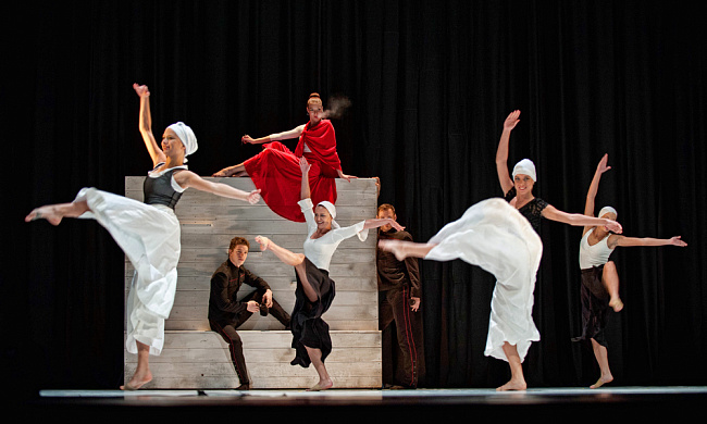 National Ballet of Hungary Ballet Pеcs с балетом «Кармен»