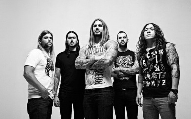 Концерт группы As I Lay Dying в Москве